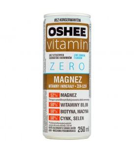 Oshee Vitamin Zero Magnez Napój gazowany o smaku jagód acai miechunki peruwiańskiej 250 ml