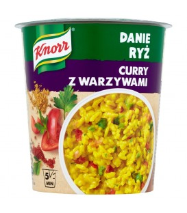 Knorr Danie Ryż Curry z warzywami 87 g