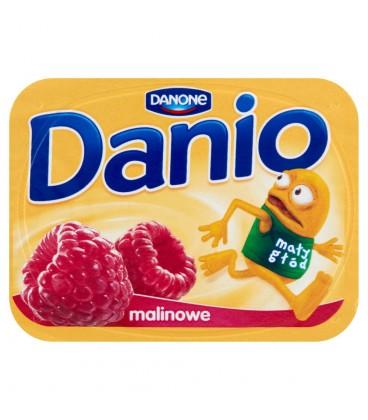 Danone Danio Serek homogenizowany malinowy 140 g