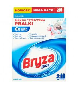 Bryza Lanza Original Płyn do czyszczenia pralki 500 ml (2 sztuki)