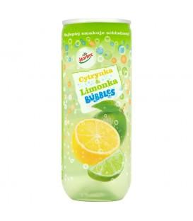 Hortex Bubbles Cytrynka i limonka Napój gazowany 240 ml