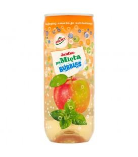 Hortex Bubbles Jabłko paMięta Napój gazowany 240 ml
