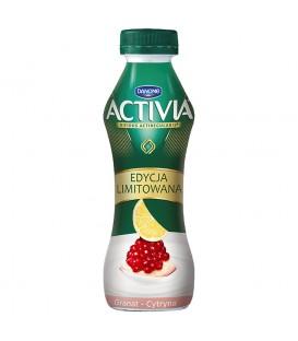 Danone Activia Granat cytryna Jogurt 280 g