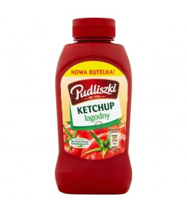 Pudliszki Ketchup łagodny 410 g