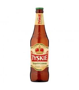 Tyskie Niepasteryzowane Piwo jasne  500 ml