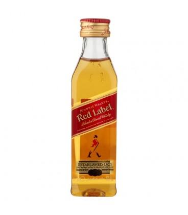 Johnnie Walker Red Label Szkocka whisky 50 ml
