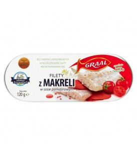 GRAAL Filety z makreli w sosie pomidorowym 120 g