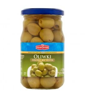 Podravka Smaki kuchni śródziemnomorskiej Oliwki zielone bez pestek 330 g