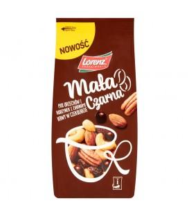 Lorenz Mała czarna Mix orzechów i rodzynek z ziarnami kawy w czekoladzie 140 g