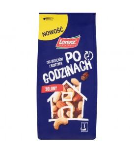 Lorenz Po godzinach Mix orzechów i rodzynek solony 160 g