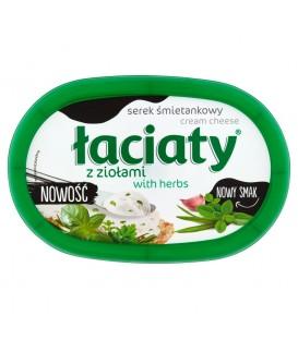 Łaciaty Serek śmietankowy z ziołami 135 g