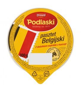 Drosed Podlaski Pasztet Belgijski z dodatkiem wątróbki z kurcząt 100 g