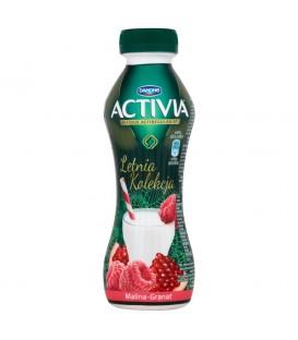 Danone Activia Letnia Kolekcja Malina granat Jogurt 300 g