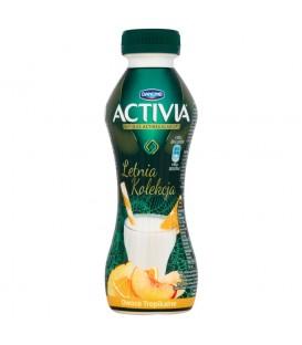 Danone Activia Letnia Kolekcja Owoce tropikalne Jogurt 300 g