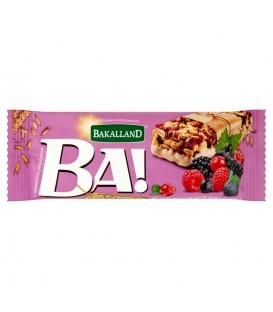 Bakalland Ba! 5 owoców leśnych Baton zbożowy 40 g