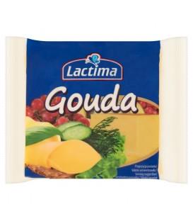 Lactima Ser topiony w plasterkach Gouda 130 g (8 sztuk)