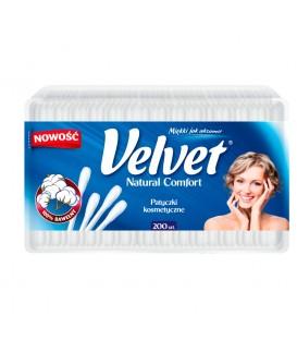 Velvet Natural Comfort Patyczki kosmetyczne 200 sztuk