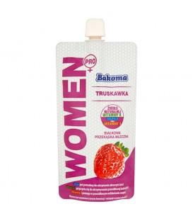 Bakoma Women Pro Białkowa przekąska mleczna truskawka 120 g