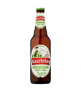Kasztelan Niepasteryzowane Piwo jasne 500 ml