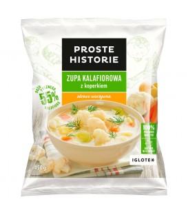 Proste Historie Zupa kalafiorowa z koperkiem 450 g