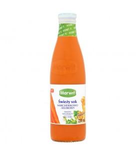 Marwit Świeży sok marchewkowo-selerowy 250 ml