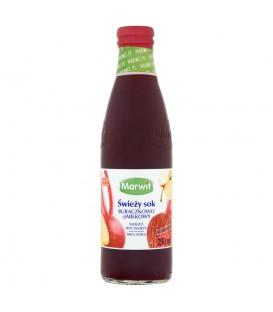 Marwit Świeży sok buraczkowo-jabłkowy 250 ml