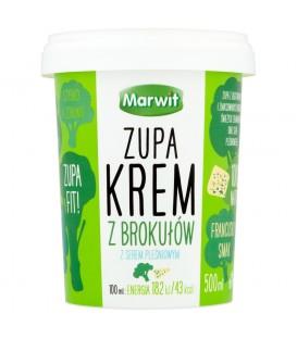 Marwit Zupa krem z brokułów z serem pleśniowym 500 ml