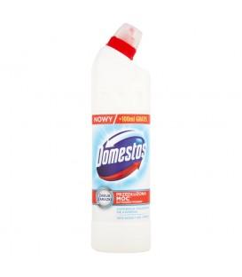 Domestos Przedłużona Moc Biel i połysk Płyn czyszcząco-dezynfekujący 750 ml