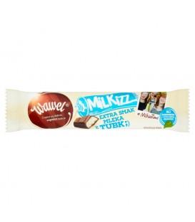 Wawel Milkizz Czekolada mleczna nadziewana 30 g