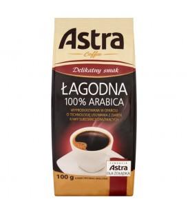 Astra Łagodna Delikatny smak Kawa drobno mielona 100 g