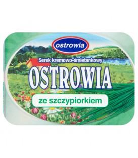 Ostrowia ze szczypiorkiem Serek kremowo śmietankowy 120 g