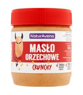 NaturAvena Masło orzechowe crunchy 340 g