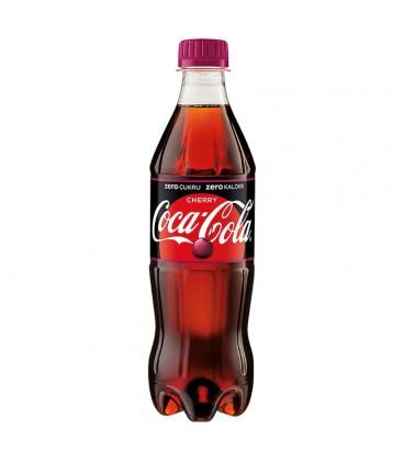 Coca-Cola zero Cherry Napój gazowany 500 ml
