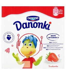 Danone Danonki wanilia Twarożek 200 g (4 sztuki)