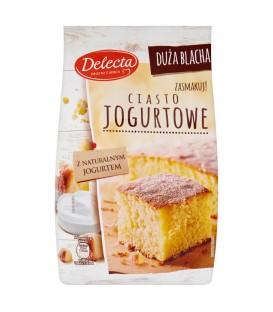 Delecta Duża Blacha Ciasto jogurtowe 640 g