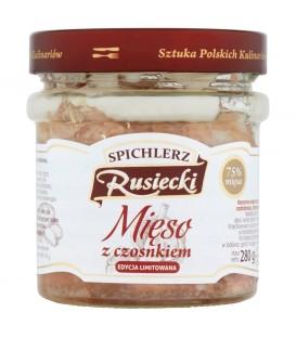 Spichlerz Rusiecki Mięso z czosnkiem 280 g