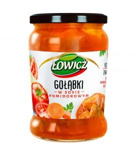 Łowicz Gołąbki w sosie pomidorowym 580 g