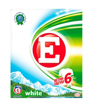E White Proszek do prania 280 g (4 prania)