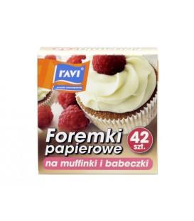 Ravi Foremki papierowe na muffinki i babeczki 42sz