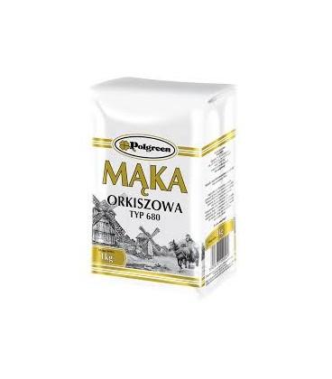 Polgreen Mąka Orkiszowa 1kg.