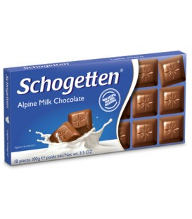 Schogetten alpine milk chocolate 100g