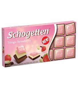 Schogetten trilogia strawberry 100g