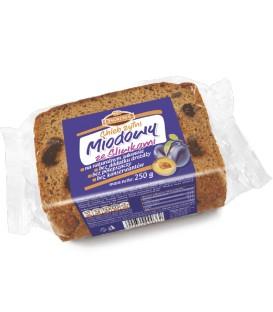Oskroba chleb miodowy ze śliwką 250g