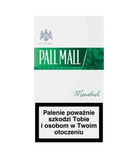 Pall Mall menthol 20 slims