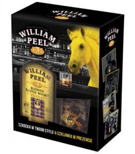 William Peel 0,7L 40% + szklanka