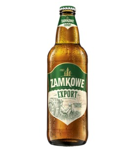 Piwo zamkowe export butelka 0,5L b/z