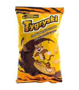 Tygryski chrupki kukurydziane czekoladowe 70g