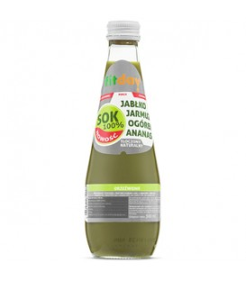 Multi smak sok jabłko jarmuż ogórek ananas 300ml