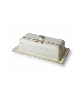 Chlebak 36x20x13cm prostokątny kokarda