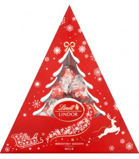 Lindt Lindor milk christmas tree 125g
